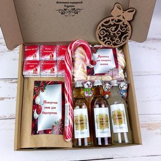 Новогодний подарочный набор №67 Новогодние подарки для коллег, родных, любимых на Николая, Новый г