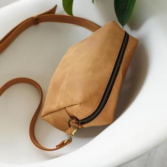 Женская кожаная сумка из натуральной кожи (арт. 644)