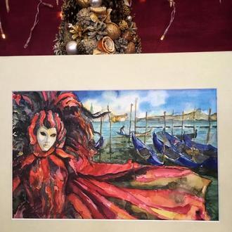 Картина «Венеція» маслом