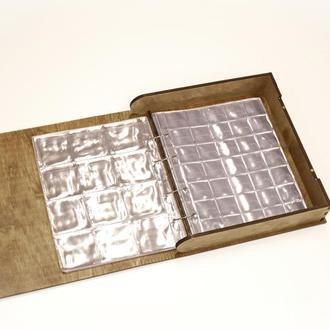 Книжка - органайзер для монет