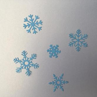 Вырубка ′Снежинки ′ 5 шт