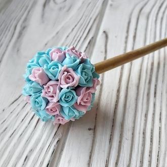 Палочка для волос Цветы