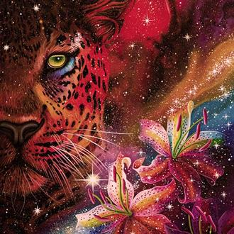 """Картина """"Природа Вселенной"""", акрил, холст"""
