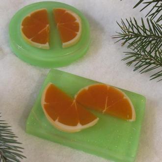 Мыло  сочный апельсин