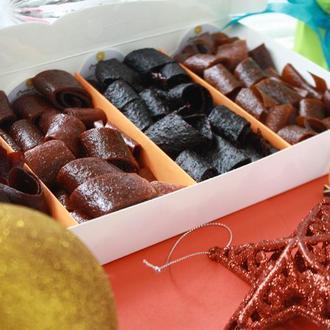 Натуральные фруктово-ягодные конфеты