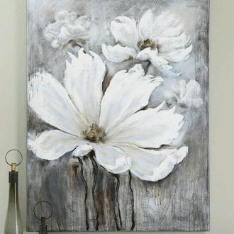 інтер'єрна картина 'Білі маки'