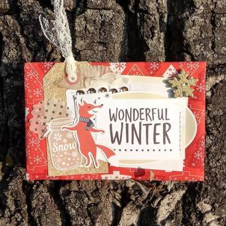 "Открытка ""Wonderful winter"""