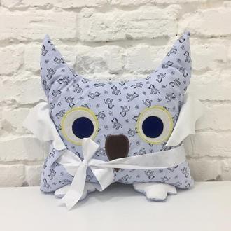 сова подушка-детские игрушки для сна-подушка-обнимашка-подарки для детей-декор в детскую