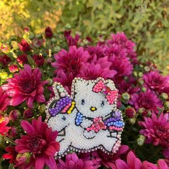 Брошь Hello Kitty
