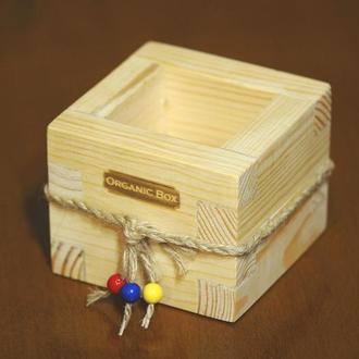 Mini ORGANIC BOX. Ящики, боксы для цветов, растений, рассады. Ручная работа.