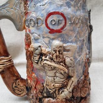 God of War бокал керамический