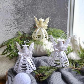 Рождественский ангел Новогодние украшения на елку Игрушки на елку Ялинкові прикраси