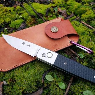 Кожаный чехол для складного ножа