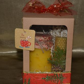 Оригинальный сладкий подарок: медовый набор