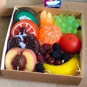 Набор мыльных фруктов