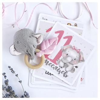 Карточки для фото малышки