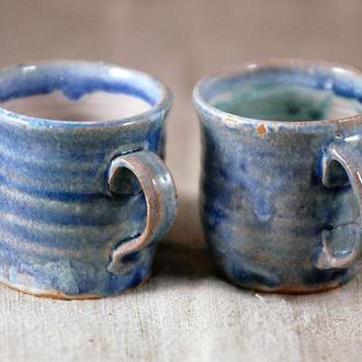 чашка синя