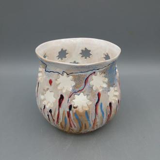 ваза керамическая декоративная.