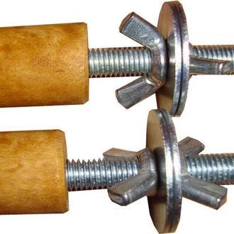 Заглушки на металлические фиксаторы и болты