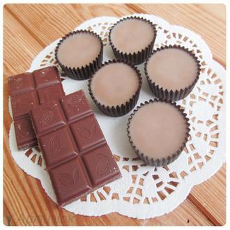 Пралине для душа ,,Молочный шоколад''