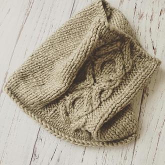 Вязаный снуд, шарф, хомут «Крох Патрик»
