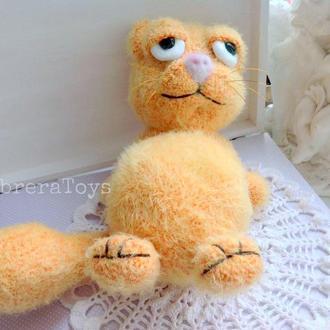 Кот Гарфилд крючком,24 см