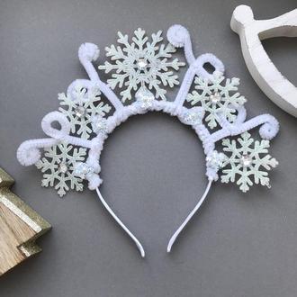 Діадема для сніжинки, сніжної королеви