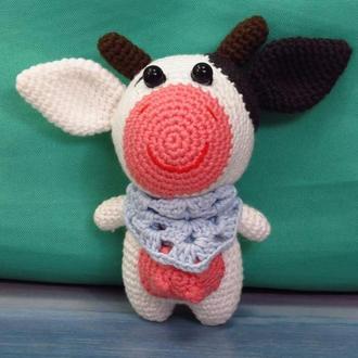 Корова в шарфике