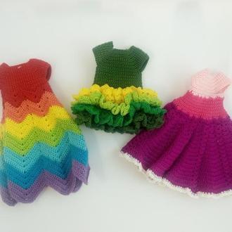 В'язане плаття для ляльки Діснея