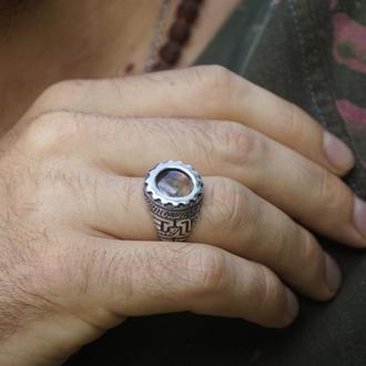 Перстень из серебра 'SKYWAY' | мужской перстень | женский перстень