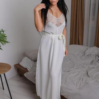Женская ночная рубашка из приятного софта