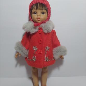 Зимовий комплект одягу для ляльок виробника 32 см Paola Reіna
