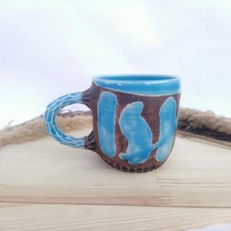 """Чашка керамічна """"Хвиля"""", 380 мл"""