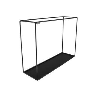 Настенная подвесная металлическая полка k385 loft 465 черная