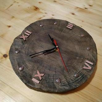 Часы деревянные. Часы лофт. ЭКО декор