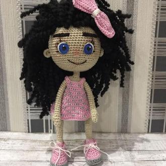 Кукла связанная крючком