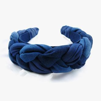 Обруч ободок для волос - Косичка