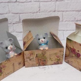 Мышки. Игрушка мышка. Мышка. Мышонок. Сувенир мышь. Подарок мышка