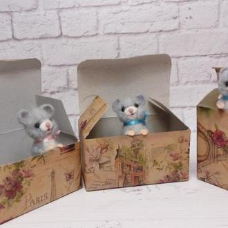 Подарок мышь. Мышка. Мышонок. Мышь. Мышата. Сувенир мышка. Мышки
