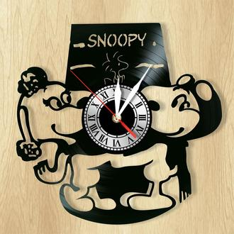 """Настенные часы """"Snoopy"""" - оригинальный подарок для себя и своих близких."""