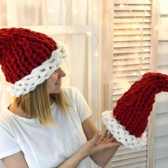 Набор для вязания шапки Санты