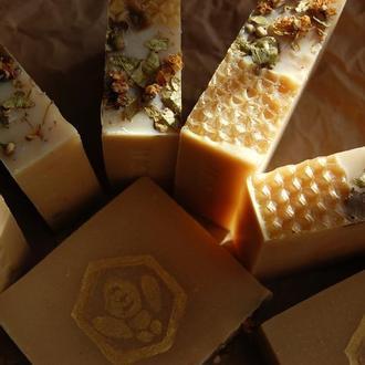 """Натуральное мыло с нуля """"Липовый мед"""""""