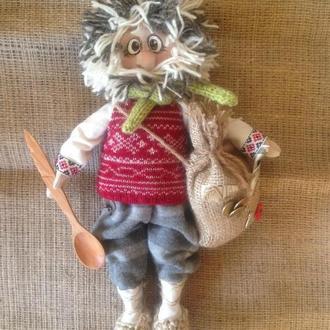 Домовой Нафаня -интерьерная кукла