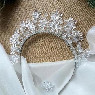 корона снежинка
