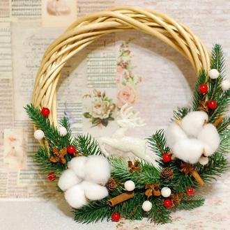 Новорічний Різдвяний вінок