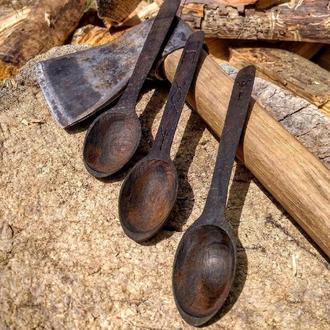 Деревянная чайная ложка