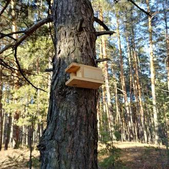 Трясогузочник - домик для трясогузки и горихвосток