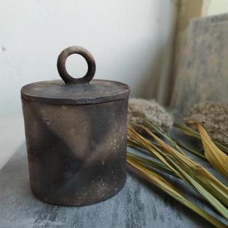 Керамическая баночка