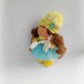 Кукла Тильда восточная красавица с мишкой
