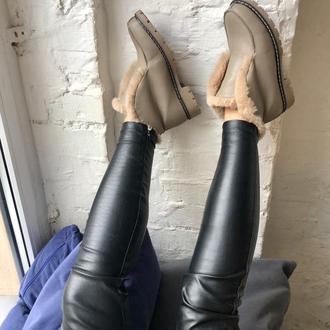 Зимние лоферы/ботинки
